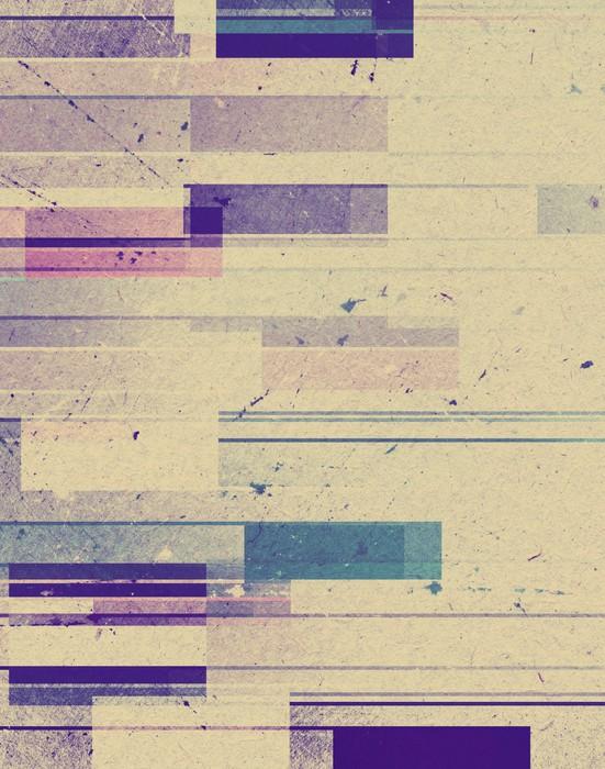 Vinylová Tapeta Barevné geometrické pozadí různého tvaru - Pozadí