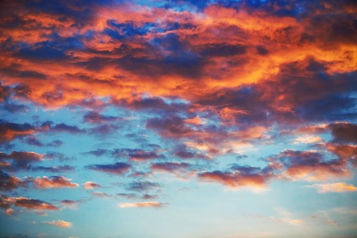 Vinylová Tapeta Krásný západ slunce obloha s mraky - Jiné pocity
