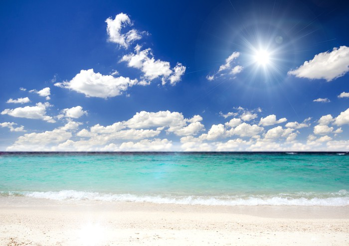 Vinylová Tapeta Lonely Caribbean Dream beach :) - Amerika