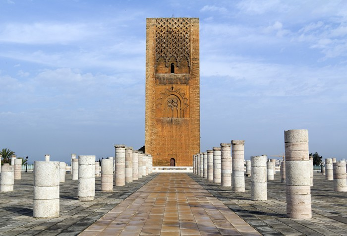 Vinylová Tapeta Hasan věž - Afrika