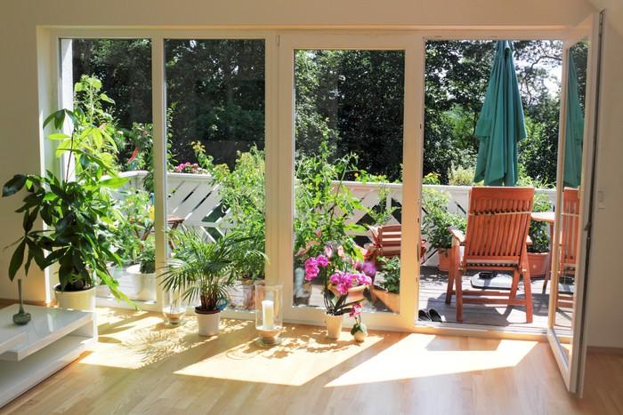 fototapete wohnen im gr nen pixers wir leben um zu ver ndern. Black Bedroom Furniture Sets. Home Design Ideas