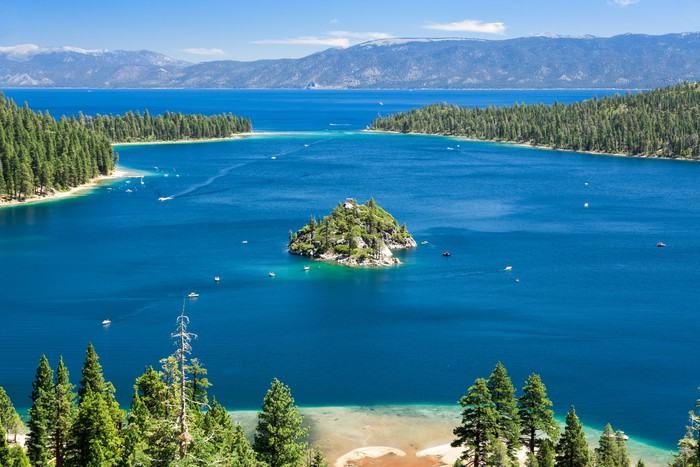 Vinylová Tapeta Emerald Bay, Lake Tahoe - Témata