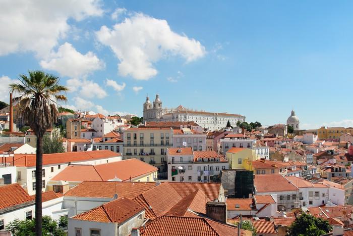 Vinylová Tapeta Klášter Sao Vicente de Fora - Evropská města