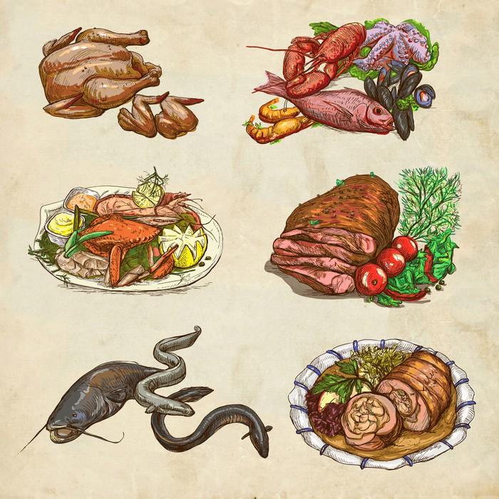 Papel pintado alimentos en todo el mundo un ejemplo - El mundo del papel pintado ...