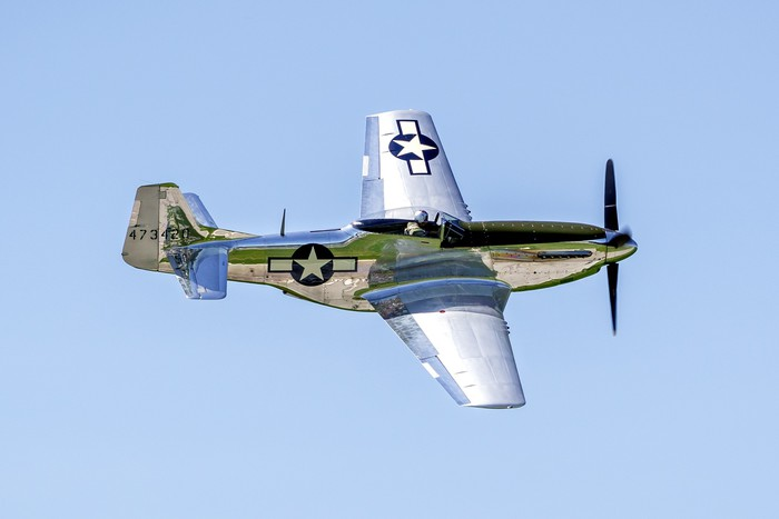 P51 Mustang Wall Mural Pixers 174 We Live To Change