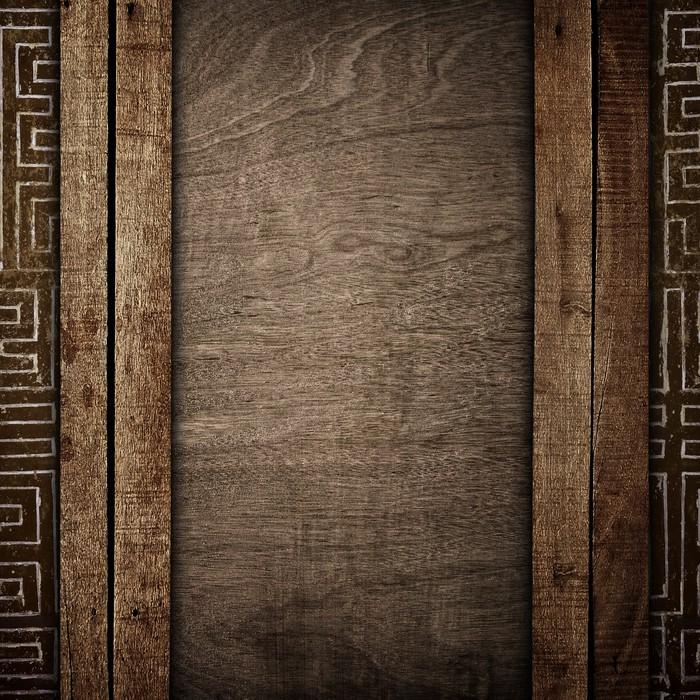 sticker vieille planche de bois pixers nous vivons. Black Bedroom Furniture Sets. Home Design Ideas