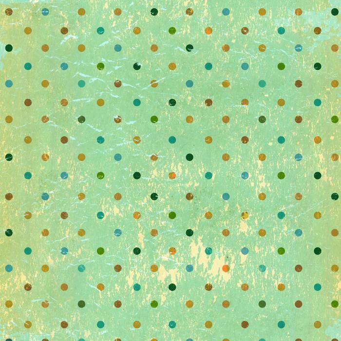 Vinylová Tapeta Grunge pozadí s tečkami vzorem - Témata