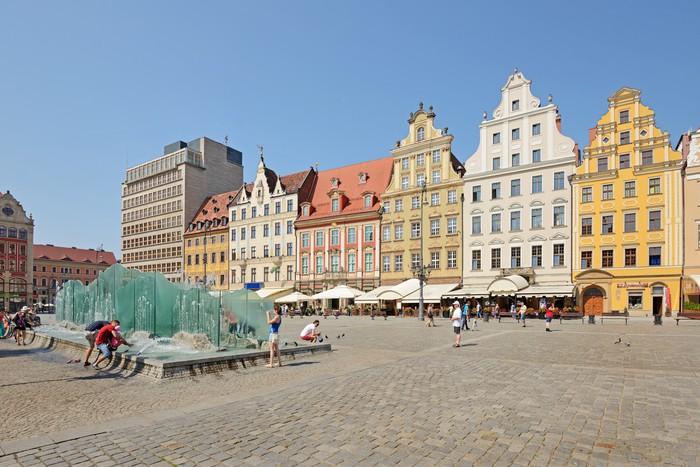 Vinylová Tapeta Wroclaw-trhu - Evropa