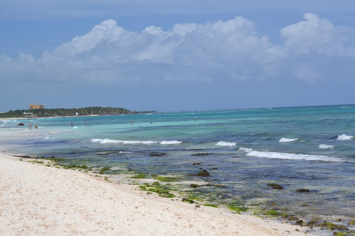 Vinylová Tapeta Карибский пляж - Amerika
