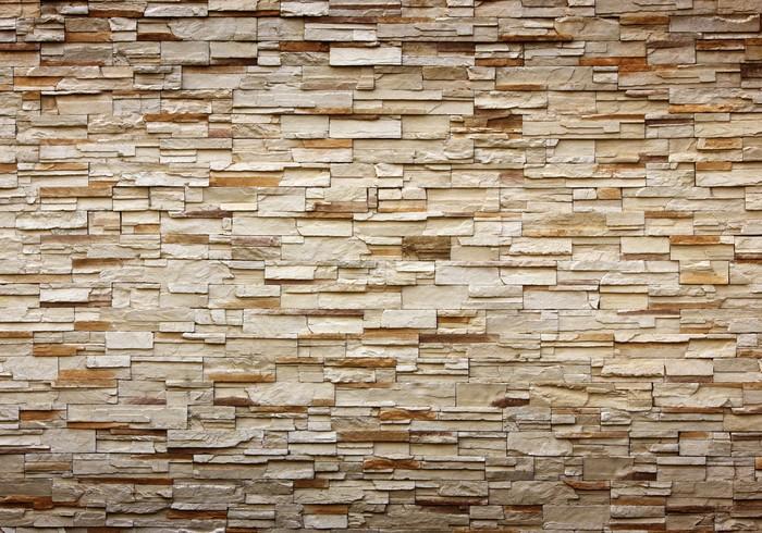 Vinilo pixerstick textura de la pared de piedra para el for Textura de pared