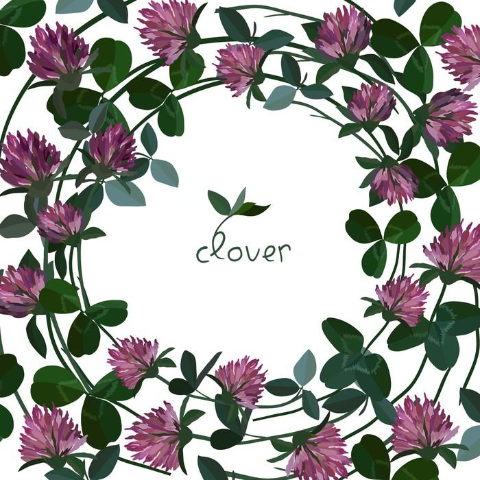 Sticker vector floral carte pixers nous vivons pour for Chambre a coucher 9907