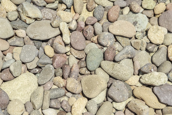 Vinylová Tapeta Kulaté kameny - Témata