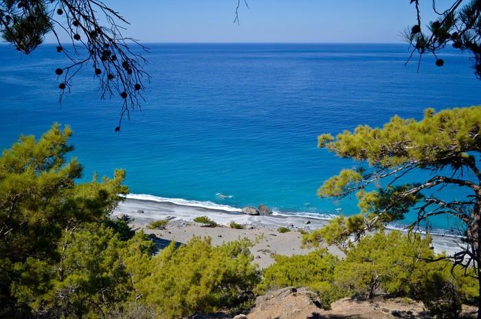 Vinylová Tapeta Agios Pavlos beach - Evropa
