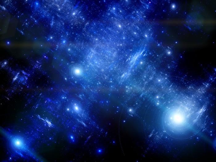 Vinylová Tapeta Hlubokého vesmíru s spirálních galaxií - Galaxie