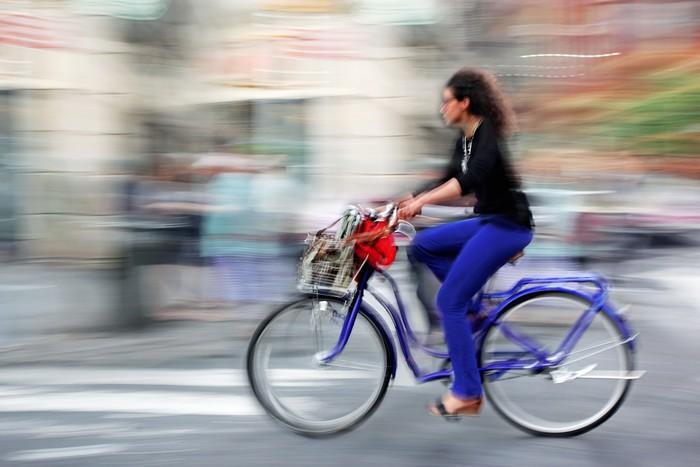 Vinylová Tapeta Alternativou ekologické čisté dopravy - Cyklistika