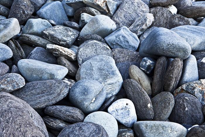 Vinylová Tapeta Plážové kameny - Přírodní krásy