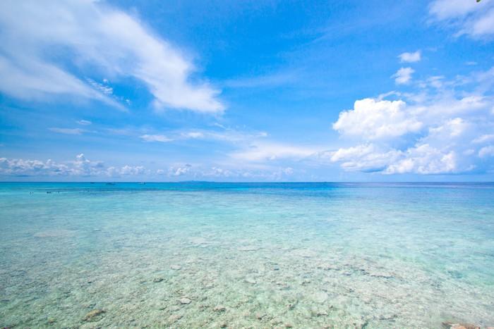 Vinylová Tapeta Pláž tropické křišťálově čisté moře, Tachai island, Andaman, Tha - Asie