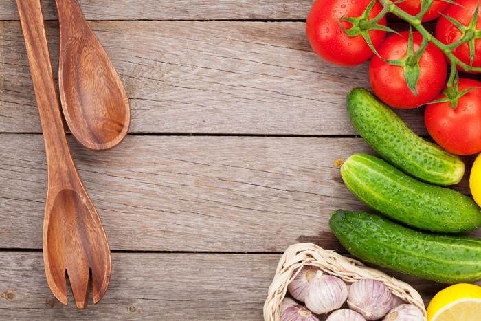 Nálepka Pixerstick Čerstvé zralé zeleniny - Témata