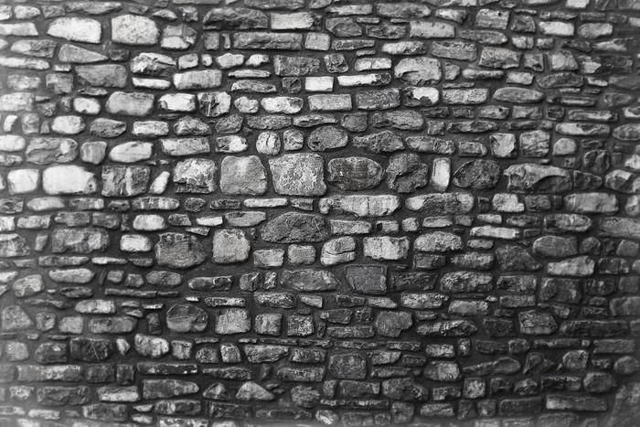 Vinylová Tapeta Staré kamenné zdi - Témata