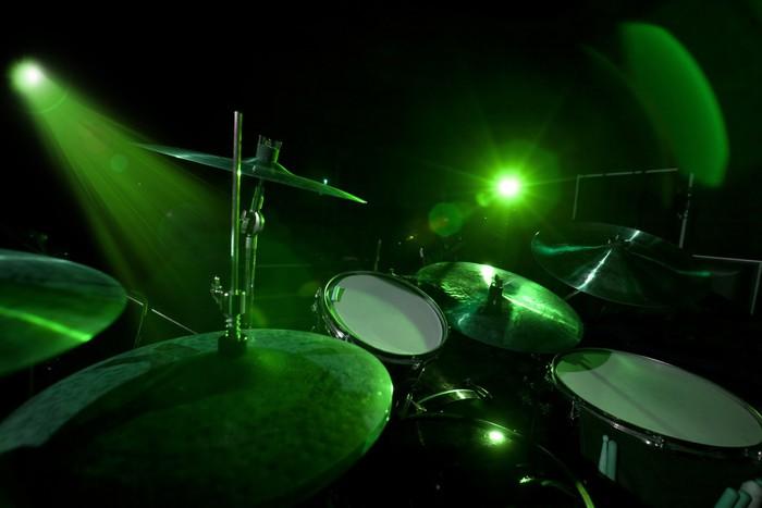 Aufkleber Trommeln in der grünes Licht • Pixers® - Wir leben, um zu ...