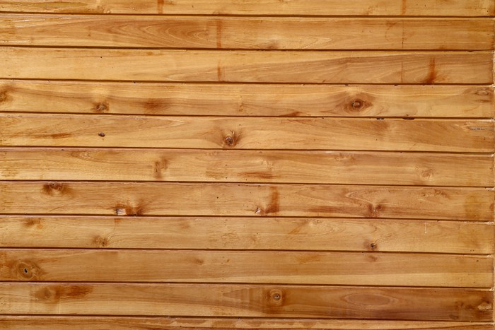 Plakát Hnědé dřevo prkno zdi textury. - Struktury
