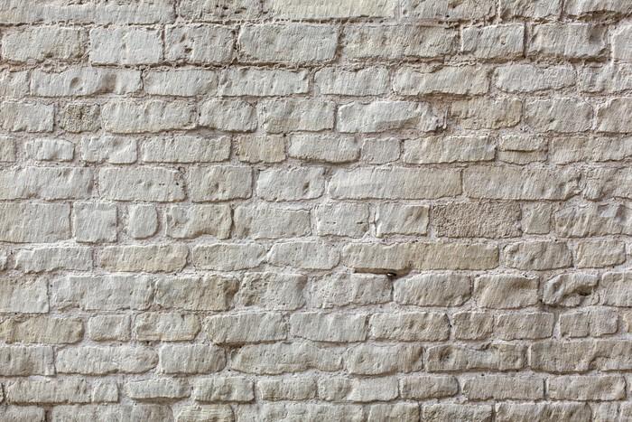 Carta da parati mattoni bianchi sfondo muro pixers for Carta parati mattoni