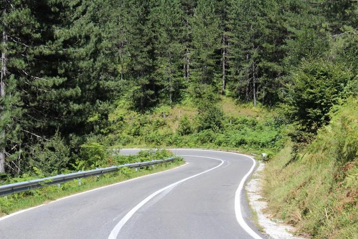 Vinylová Tapeta Mountain Road - Evropa
