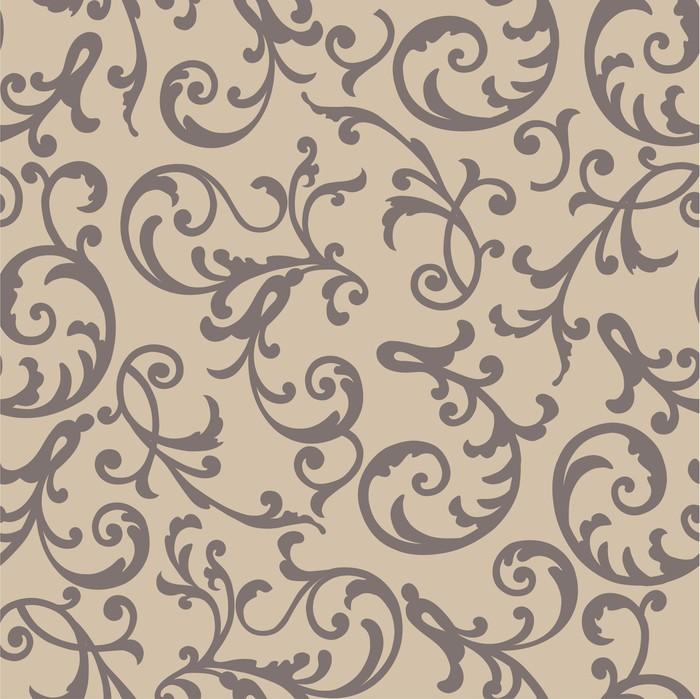 Vinylová Tapeta Vector seamless pattern - Pozadí