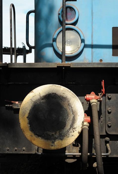 Vinylová Tapeta Rangier-Lok - Železnice