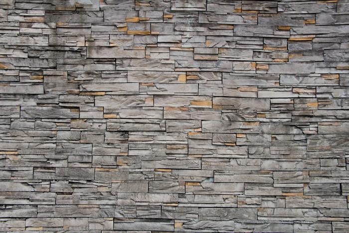 Carta da parati pietra trama muro di mattoni pixers for Carta da parati effetto muro mattoni