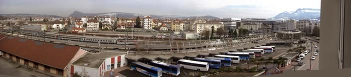 Vinylová Tapeta Annecy Centre Ville Gare SNCF - Na cestě