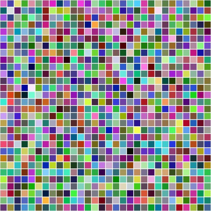 Vinilo pixerstick pixel fondo multicolor mosaico pixers vivimos para cambiar - Fotomurales pixel ...