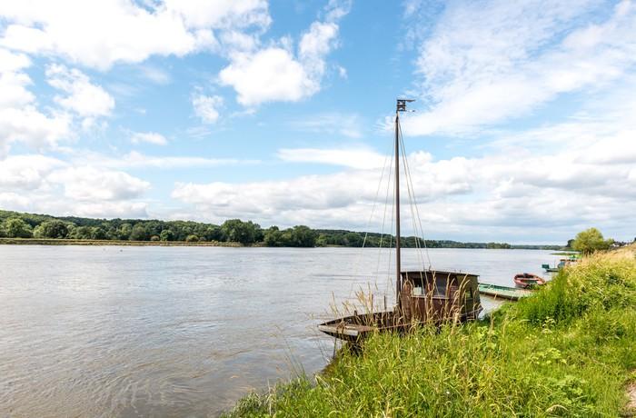 Vinylová Tapeta Loire řeka poblíž Saint Clement des hrázích (Francie) - Voda