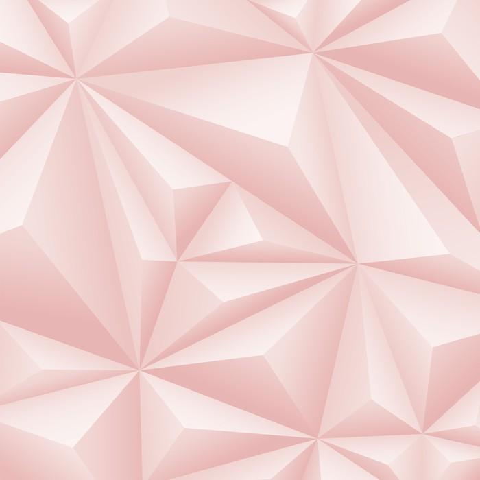 Papier Peint Fond Geometrique Rose Pixers Nous Vivons Pour Changer