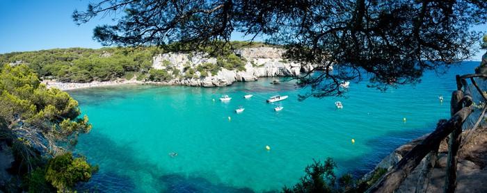 Vinylová Tapeta Macarella Beach v Menorca, Španělsko - Ostrovy