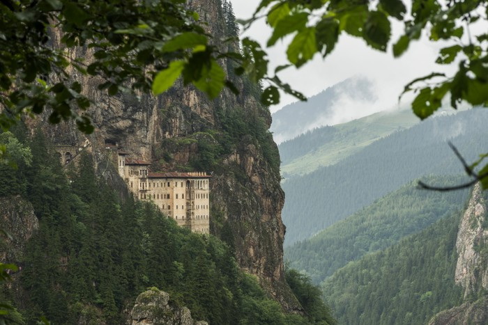 Vinylová Tapeta Sumela klášter - Evropa