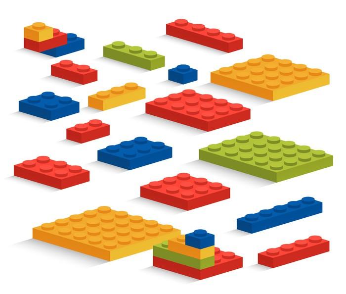 papier peint ensemble de pi ces de lego plastique ou constructeur pixers nous vivons pour. Black Bedroom Furniture Sets. Home Design Ideas