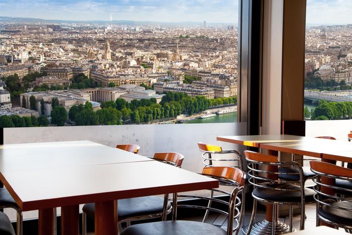 Vinylová Tapeta Vista di Parigi - Evropská města