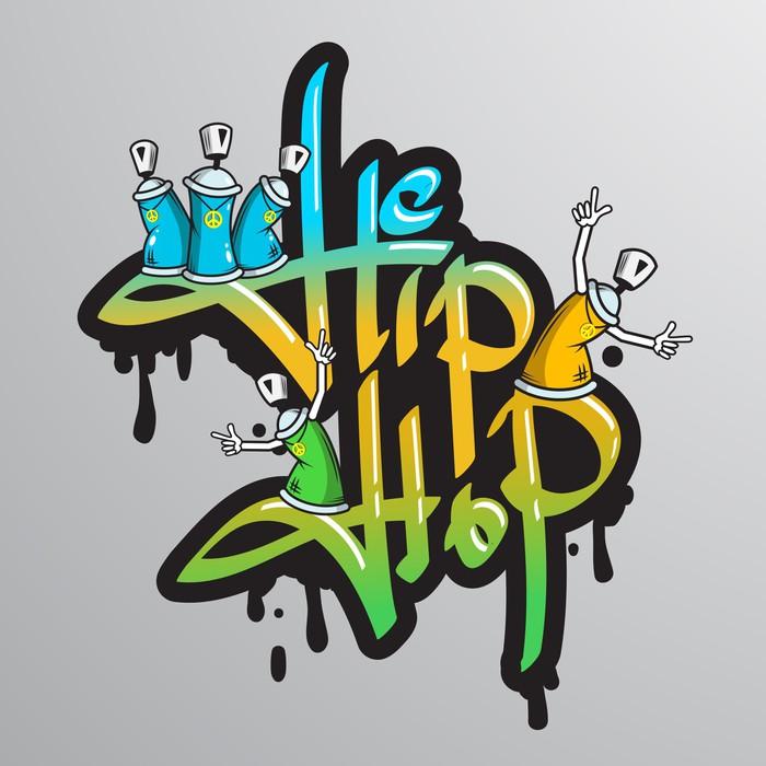 Vinylová Tapeta Graffiti slovní znaky pro tisk - Osud
