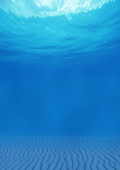 Vinylová Tapeta Fundo dělat oceano - Podvodní svět