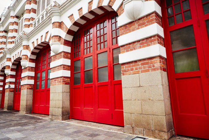 Charming Fire Station Wall Mural   Vinyl   Life Part 29