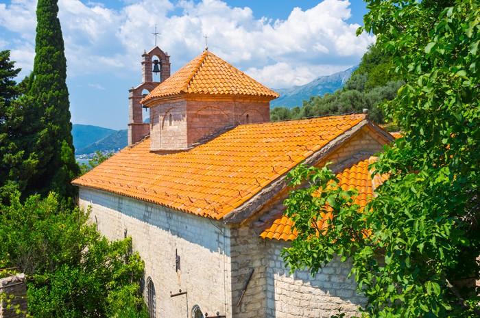 Vinylová Tapeta Církev střechy - Evropa