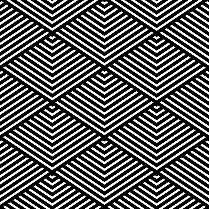 Conosciuto Carta da Parati Seamless texture geometrica. • Pixers® - Viviamo  II28