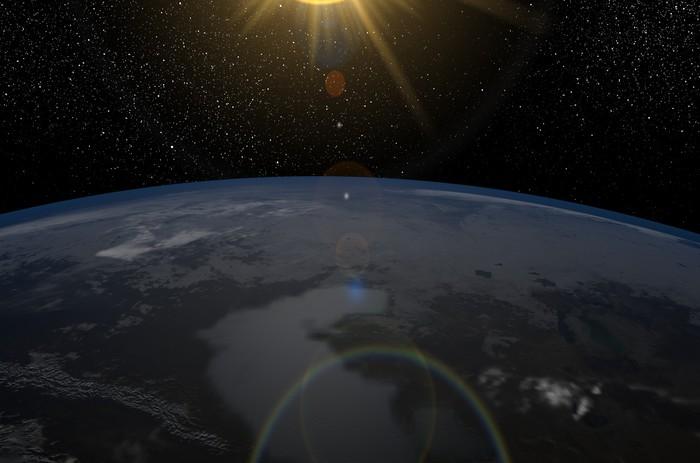 Vinylová Tapeta Země - Vzduch