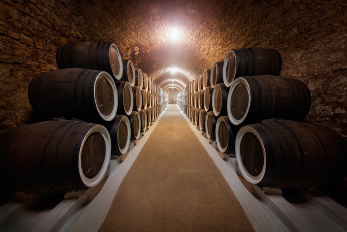 Wine cellar Vinyl Wall Mural - Alcohol & Wine cellar Wall Mural u2022 Pixers® u2022 We live to change