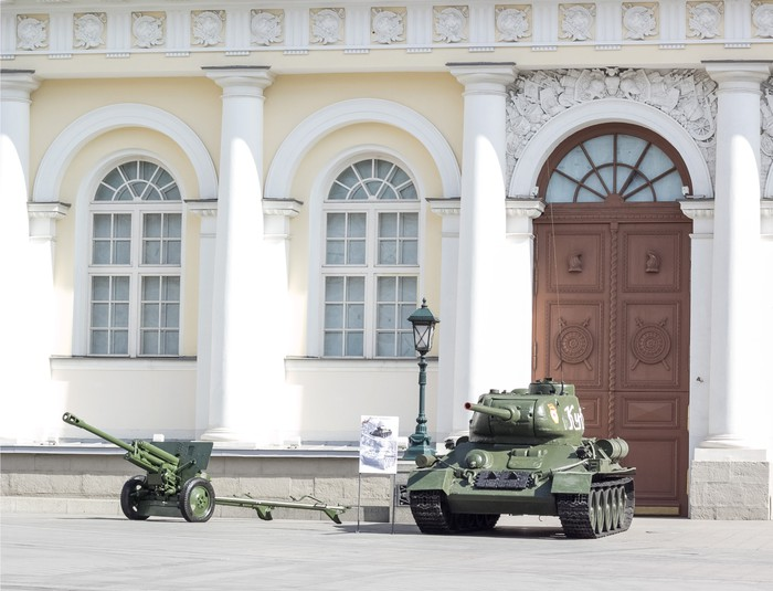 Vinylová Tapeta Ruská armáda průvod - Asijská města