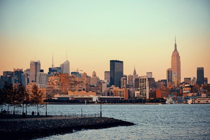 Vinylová Tapeta New York City mrakodrapy - Jiné
