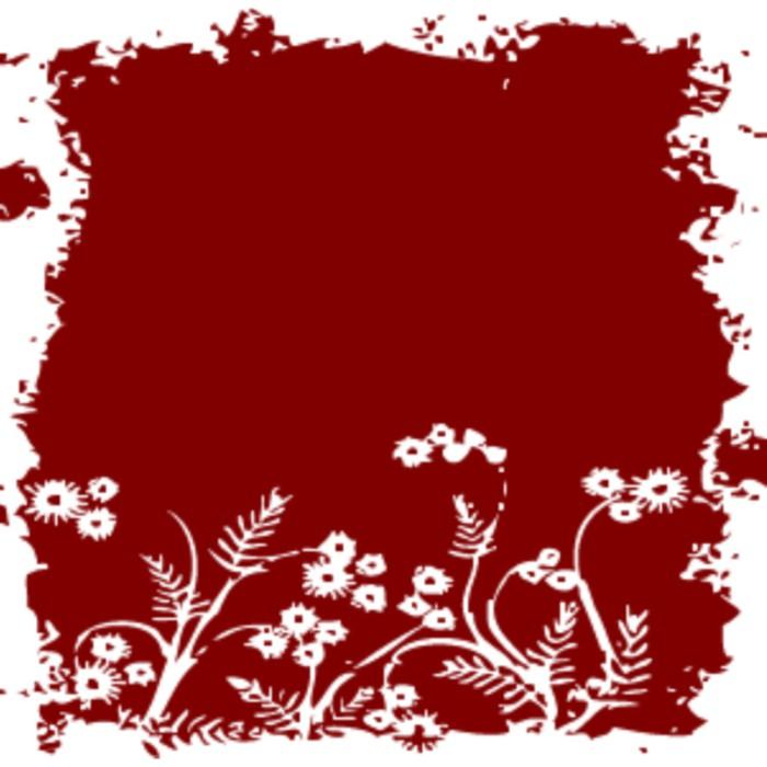 papier peint fond floral blanc rouge pixers nous. Black Bedroom Furniture Sets. Home Design Ideas