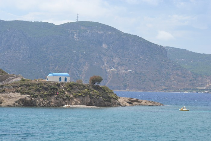 Vinylová Tapeta Island Kastri V Řecku - Evropa