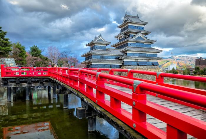 Vinylová Tapeta Matsumoto hrad v Matsumoto Nagano, Japonsko - Asie